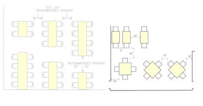 Table Spacing Amp Dimensions Mrs Briggs Website